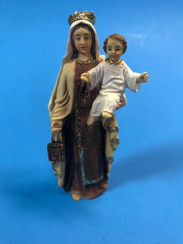 "Our Lady of Mount Carmel 4"" Statue"