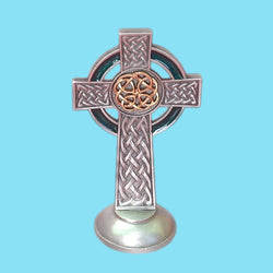Standing Celtic Knotted Cross