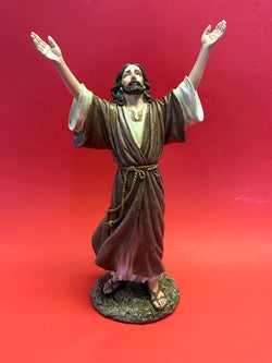 Let Go, Let God Christ Statue