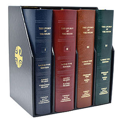 Liturgy of the Hours - Complete Set - Large Print -Leather