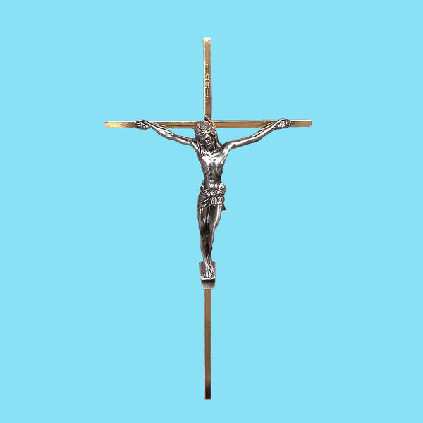 Silver and Brass Crucifix