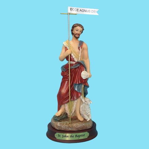 Saint John the Baptist  9""