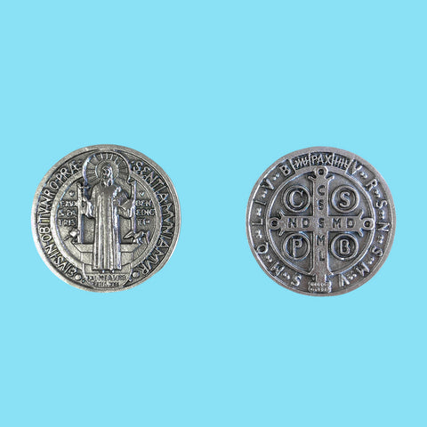 Saint Benedict Catholic Prayer Coin