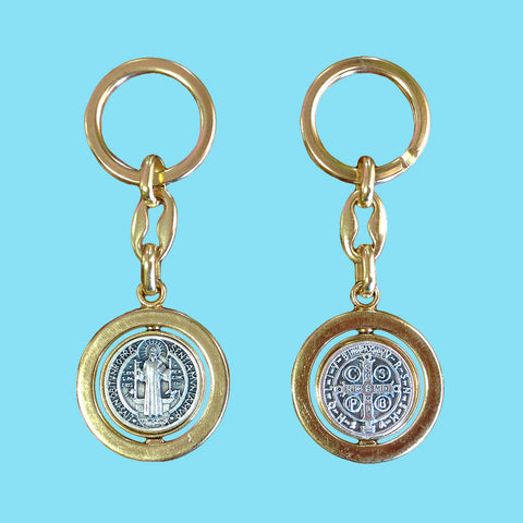 Saint Benedict Key Chain