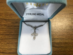 Crucifix - Sterling Silver - Infant