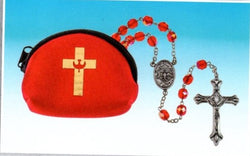 Confirmation Rosary with Pouch