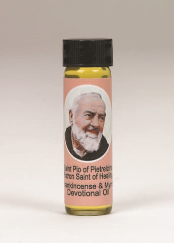 Padre Pio Scented Devotional Oil