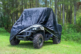 XYZCTEM UTV Cover with Heavy Duty Black Oxford Waterproof Material