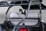 "Polaris RZR 570/800/900 Back UTV Windshield 3/16"" - Scratch Resistant - 4 Seater - Models 2014 and older"