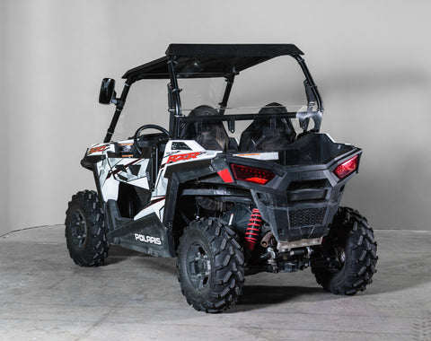 "Polaris RZR 900 Back UTV Windshield 3/16"" - 2 Seater - Models 2015+"