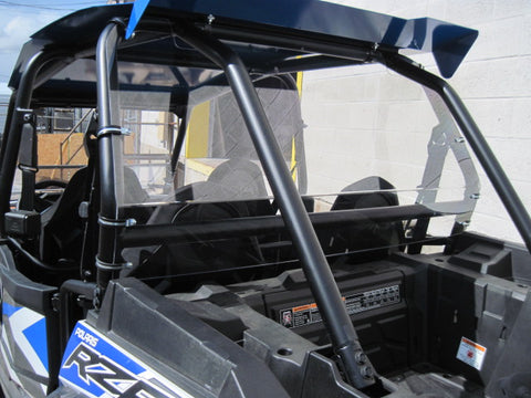 "Polaris RZR 900 Back UTV Windshield 3/16"" - 4 Seater - Models 2015+"