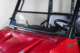 "Polaris Ranger Mid Size 570 Full Tilting UTV Windshield 3/16"" - Scratch Resistant - Model 2015+ Pro Fit Cage"