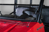 "Polaris Ranger Mid Size 570 Full Tilting UTV Windshield 1/4"" - Scratch Resistant - Model 2015+ Pro Fit Cage"