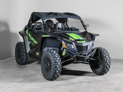 "Arctic Cat Wildcat XX Full UTV Windshield 3/16"" Scratch Resistant"