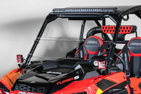 "Polaris RZR XP Turbo/S 2019+ Half Windshield Half 3/16"" MAR"