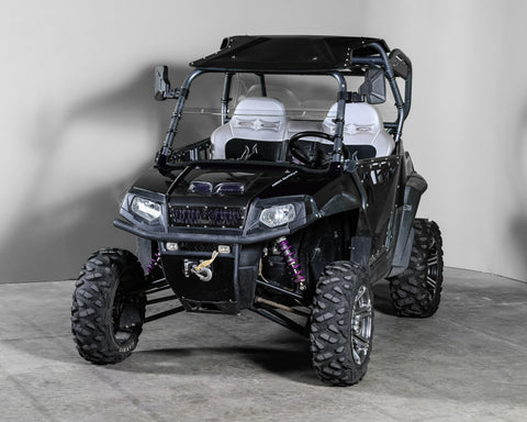Scratch Resistant Polaris RZR 570//800//900 Full Tilting UTV Windshield 3//16/""