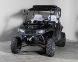 "Polaris RZR 570/800/900 Half UTV Windshield 3/16"" - Scratch Resistant - Models 2014 and older"