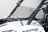 "Can-Am Maverick Half UTV Windshield 1/4"" Scratch Resistant"