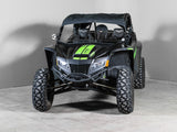 "Arctic Cat Wildcat XX Half UTV Windshield 3/16"" Scratch Resistant"
