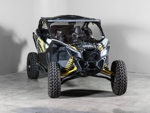 "Can-Am Maverick X3 No Intrusion Full UTV Windshield 3/16"" - Scratch Resistant"