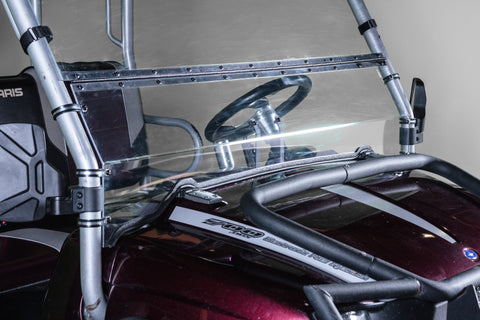 "Polaris Ranger Crew Full Tilting UTV Windshield 3/16"" - Models 2003-2009"