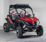 CF Moto Z Force Half UTV Windshield 3/16""
