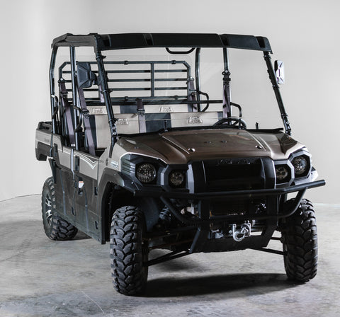 "Kawasaki Mule Pro Series Full UTV Windshield 1/4"" - Scratch Resistant - Models 2015+"