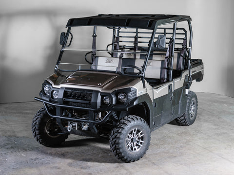 "2015 + Kawasaki Mule Pro Series 10 1/4"" Tall Half Windshield 3/16"" MAR"