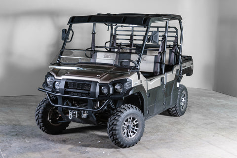 "Kawasaki Mule Pro Series Full Tilting UTV Windshield 1/4"" - Scratch Resistant - Models 2015+"