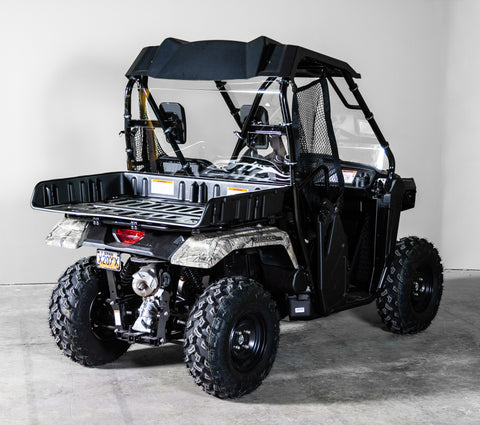 Honda Pioneer 500 2017+ Back UTV Windshield 3/16""