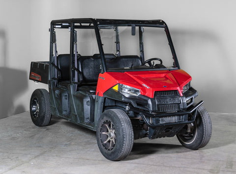 "Polaris Ranger Mid Size 570 Full UTV Windshield 3/16"" - Scratch Resistant - Model 2015+ Pro Fit Cage"