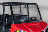 "Polaris Ranger Mid Size 570 Full UTV Windshield 1/4"" - Scratch Resistant - Model 2015+ Pro Fit Cage"