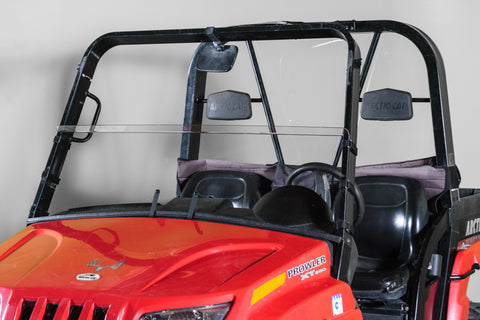 "Arctic Cat Prowler Half UTV Windshield 1/4"" - Scratch Resistant - Models 2006-2010"
