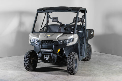 Can-Am Defender Full Windshield 3/16""