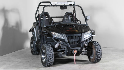 "Odes Raider Full UTV Windshield 3/16"" - Scratch Resistant"