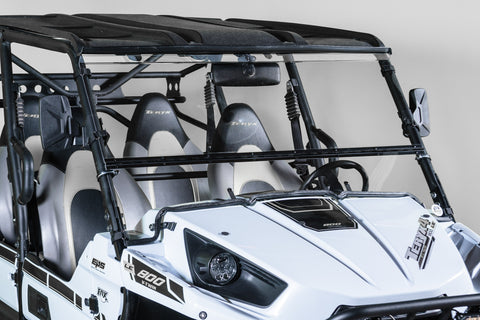 "Kawasaki Teryx Full Tilting UTV Windshield 3/16"" - Scratch Resistant - Model 2015"