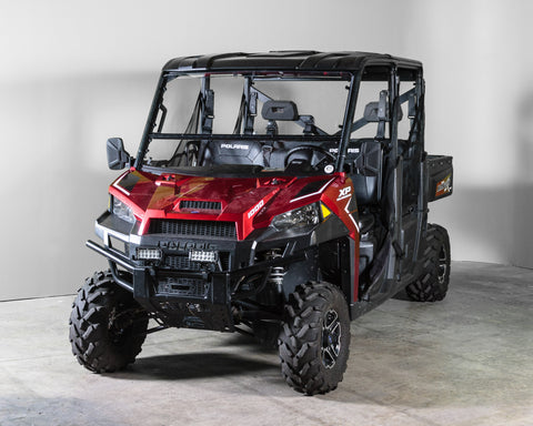 "Polaris RZR XP Turbo/S 2019+ Full Tilt Windshield 3/16"" - Scratch Resistant - Pro Fit Cage"