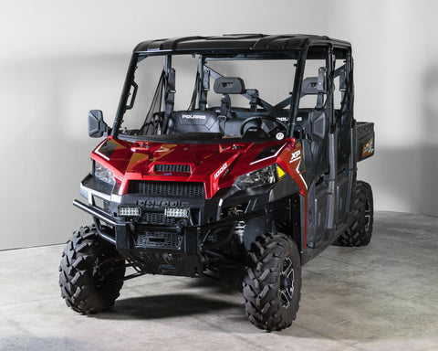 "Polaris Ranger 1000 (2019+) Full Windshield 3/16"" - Scratch Resistant- Pro Fit Cage"