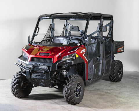 "Polaris Ranger 1000 (2019+) Half Windshield 1/4"" - Scratch Resistant - Pro Fit Cage"