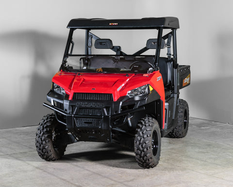 "Polaris Ranger 570/900/1000 Full Tilting Windshield 1/4"" - Scratch Resistant - Pro Fit Cage"