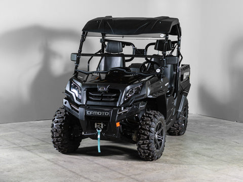 "CF Moto U Force Full Tilting UTV Windshield 1/4"" Scratch Resistant- Visor NOT Included"