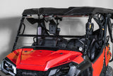 "Honda Pioneer 1000 Full Tilting UTV Windshield 3/16"" - Scratch Resistant"