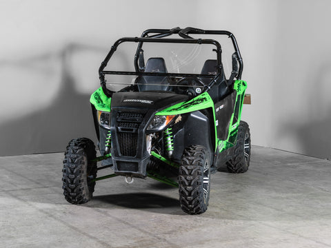 "Arctic Cat Wildcat Trail/Sport Full Tilting UTV Windshield 3/16"" Scratch Resistant"