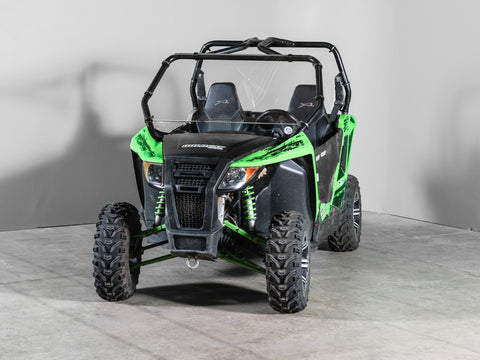 "Arctic Cat Wildcat Trail/Sport Full UTV Windshield 3/16"" Scratch Resistant"