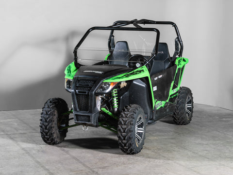 "Arctic Cat Wildcat Trail/Sport Half UTV Windshield 3/16"" Scratch Resistant"