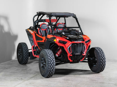 "Polaris RZR Turbo/S Full Tilting UTV Windshield 1/4"" - Scratch Resistant - Models 2019+"