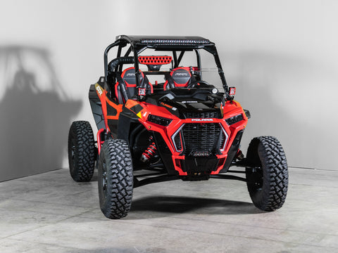 "Polaris RZR Turbo/S Half UTV Windshield 3/16"" - Scratch Resistant - Models 2019+"