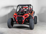 "Polaris RZR Turbo/S Full UTV Windshield 3/16""- Scratch Resistant - Models 2019+"