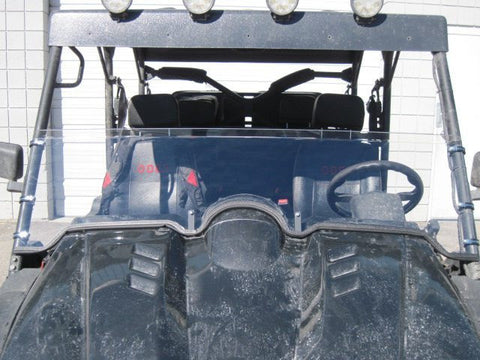 "Odes Dominator 16"" Tall Half Windshield TALLEST ON THE MARKET"