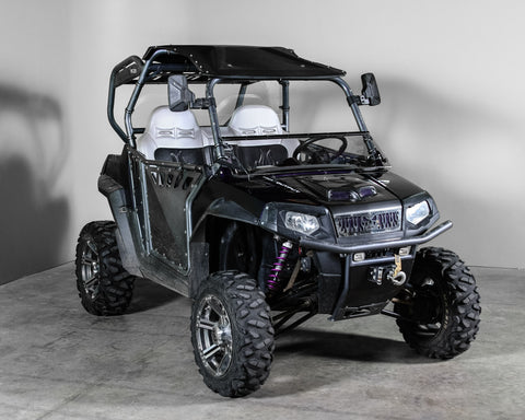 "Polaris RZR 570/800/900 Full Tilting UTV Windshield 3/16"" - Models 2014 and older"